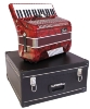 ACCORDEON 72 B 34 cles - Couleur ROUGE Marbre