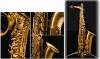 ALTO SAXO - FINITION  ANTIQUE