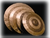 "CYMBALE CHARLESTONE SERIE ""F"" TAILLE  14"""