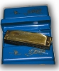 HARMONICA DIATONIC 10 HOLES TUNE (C)  ANTIC FINISH (la douzaine)