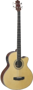 GUITARE ELECTRO ACOUSTIQUE BASSE // ACOUSTIC BASS GUITAR 4 STRINGS