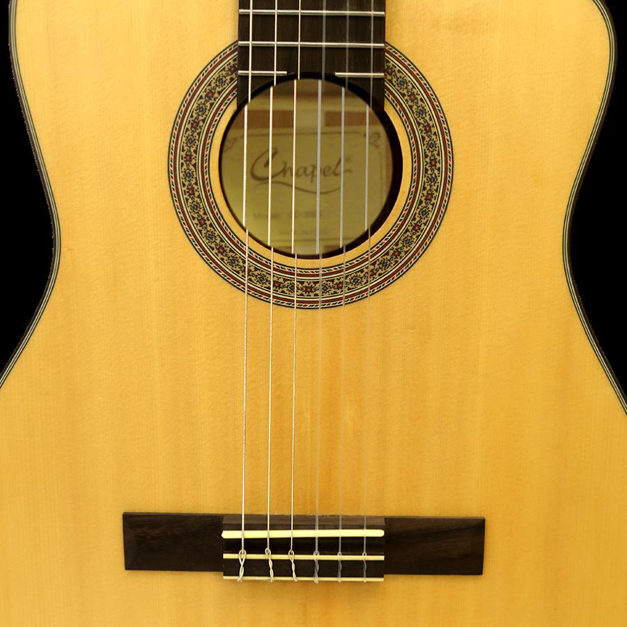 les guitares classiques chapel lectro acoustique. Black Bedroom Furniture Sets. Home Design Ideas